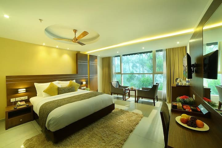 Valley View Super Deluxe room at Munnar