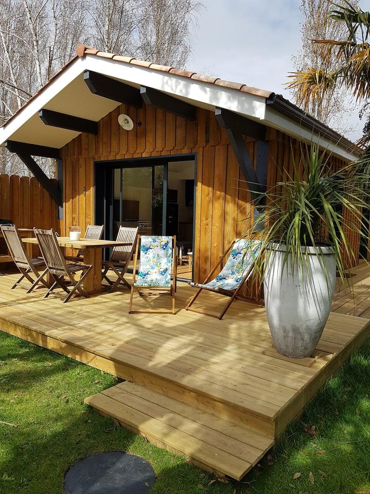 Petite maison typique du Bassin d'Arcachon