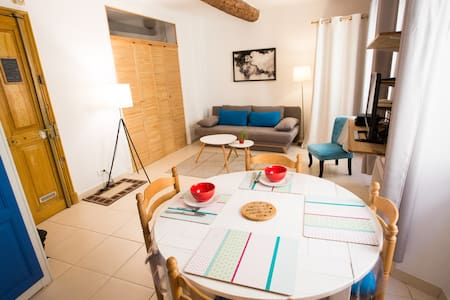 Lovely 38m2 apartment in Menton old town