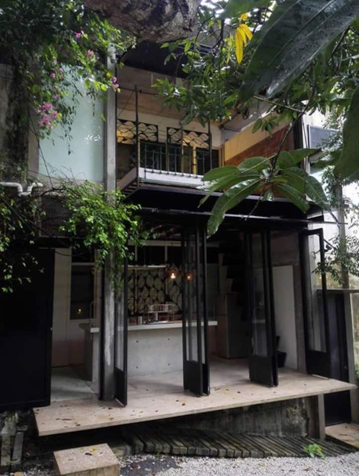 Backlane house at Bangsar