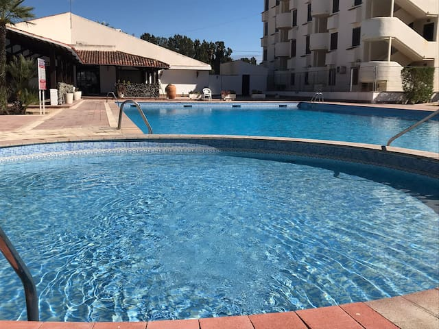 A lovely little apartment close to the beach