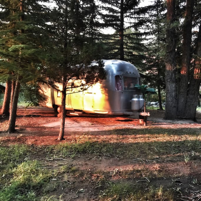 Glamping in Dubois, Wyoming Along the Wind River