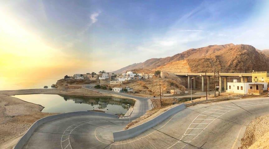 Breathtaking view right next to Wadishab-Oman