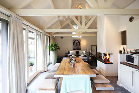 Luxurious cottage near lovely beach of Bloemendaal - Overveen