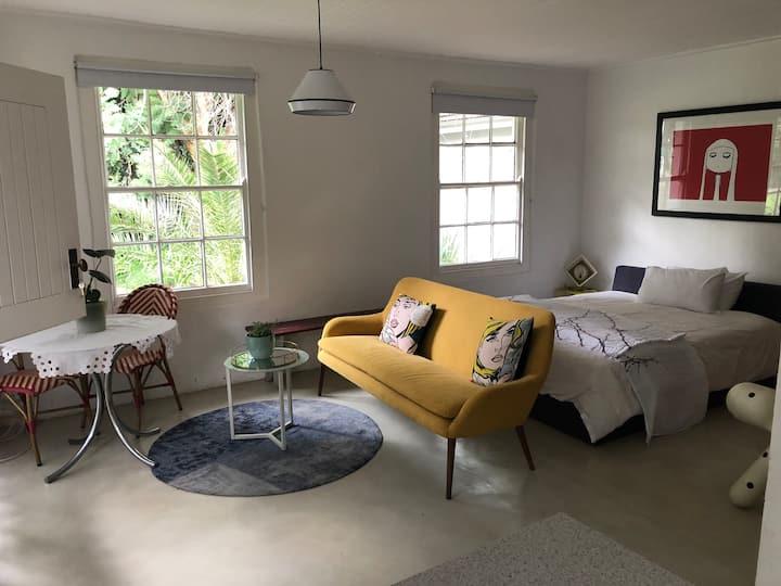 Studio type garden cottage