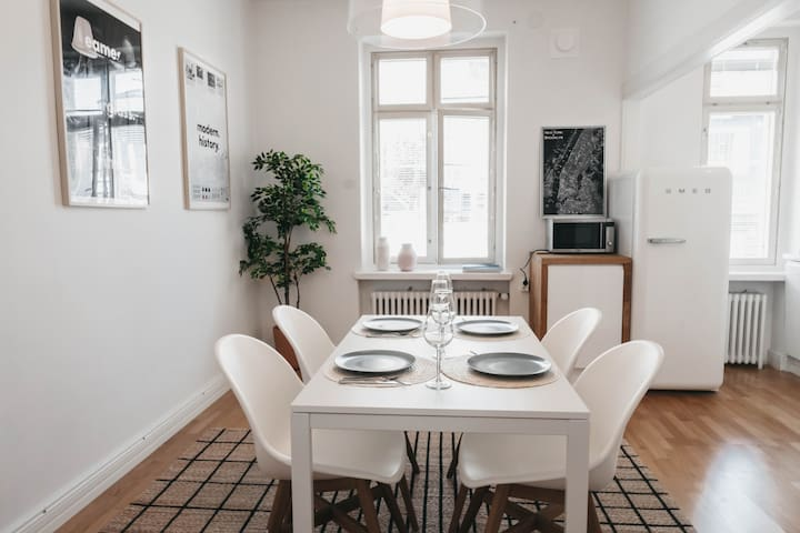 Beautiful apartment in the heart of Turku.