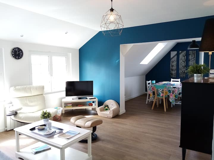 Appartement avec cour privative Agon-coutainville