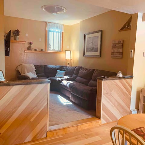 Updated comfy Fully Equipped 1 BR Apt w/King Bed