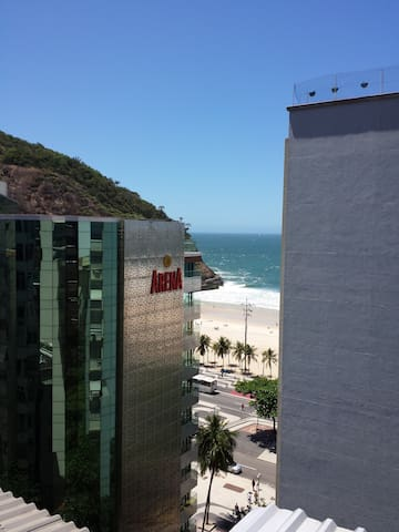 Lovely apartment one block from beach, great host - Rio de Janeiro - Appartement