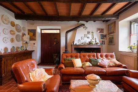 tipico casale di campagna a Cortona - Terontola - Bed & Breakfast