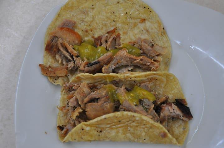 Tacos con más de 30 años de tradición
