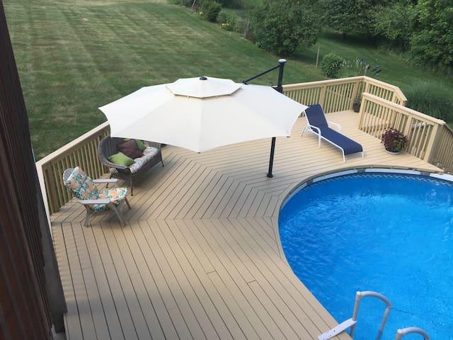 Pool, pool table and more.