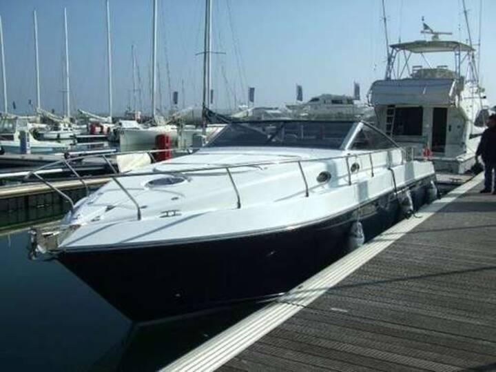 My boat in Agropoli's harbour