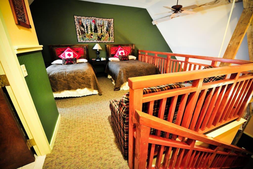 Loft Room Upstairs