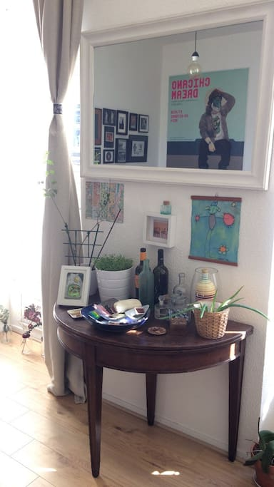 Il s'agit de mon habitation principale, avec ma déco, mes objets, mes effets personnels