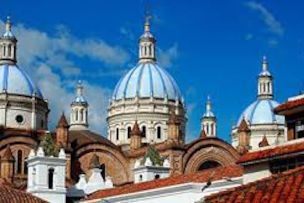 Estamos tan solo a 15 minutos del Centro Histórico de Cuenca