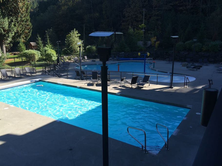 lap pool and kids pool