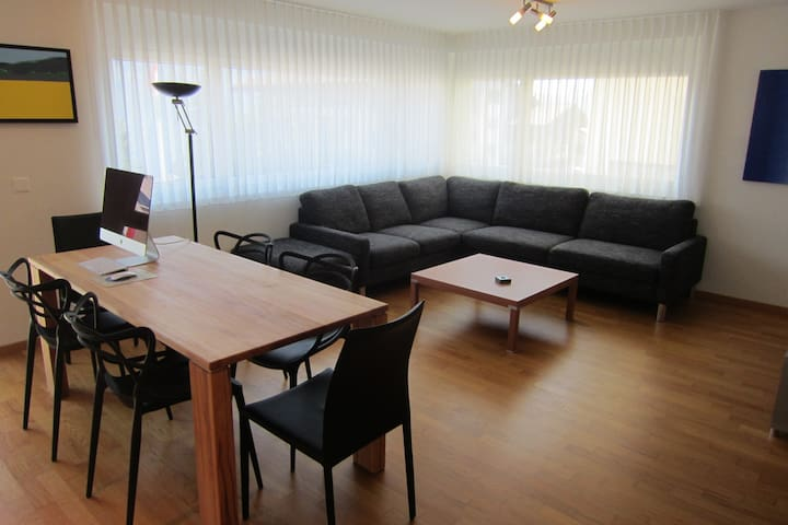 Casa Luna A (Whg. Riesen), (Flumserberg Tannenboden), 3.5 Room apartment in the centre of Tannenboden
