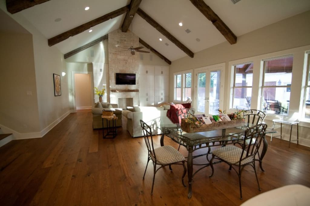 Exquisite hardwood floors