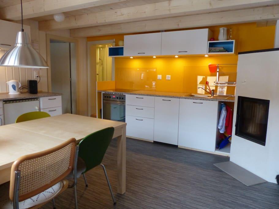 wohnküche/eingangsbereich