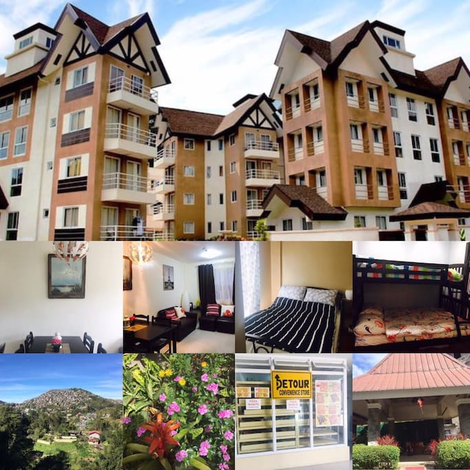 The Breys Courtyard Manor by Goshen located in premium Condominiums in Baguio City