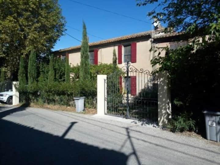 Entre Alpilles et Lubéron... Maison 130 m2