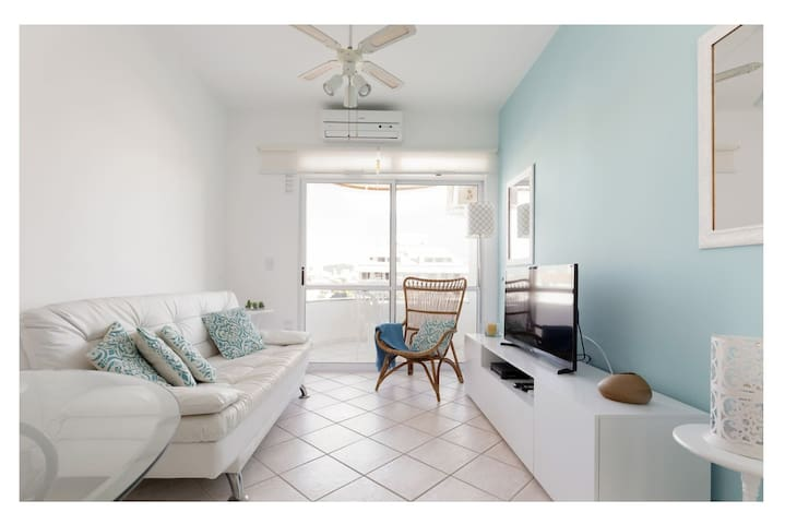 Beautiful apart w/ barbecue 100m to the beach