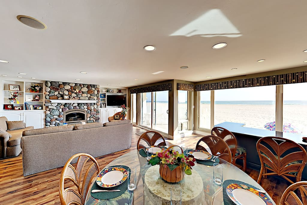Enjoy ocean breezes and an open, airy living space.