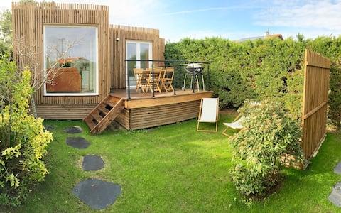 Petite maison en bois entre Biarritz et Hossegor