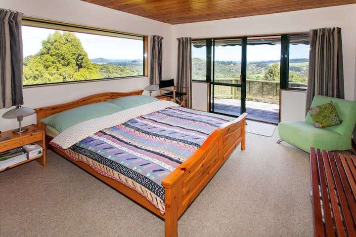 standard double room with private sundeck in the lodge