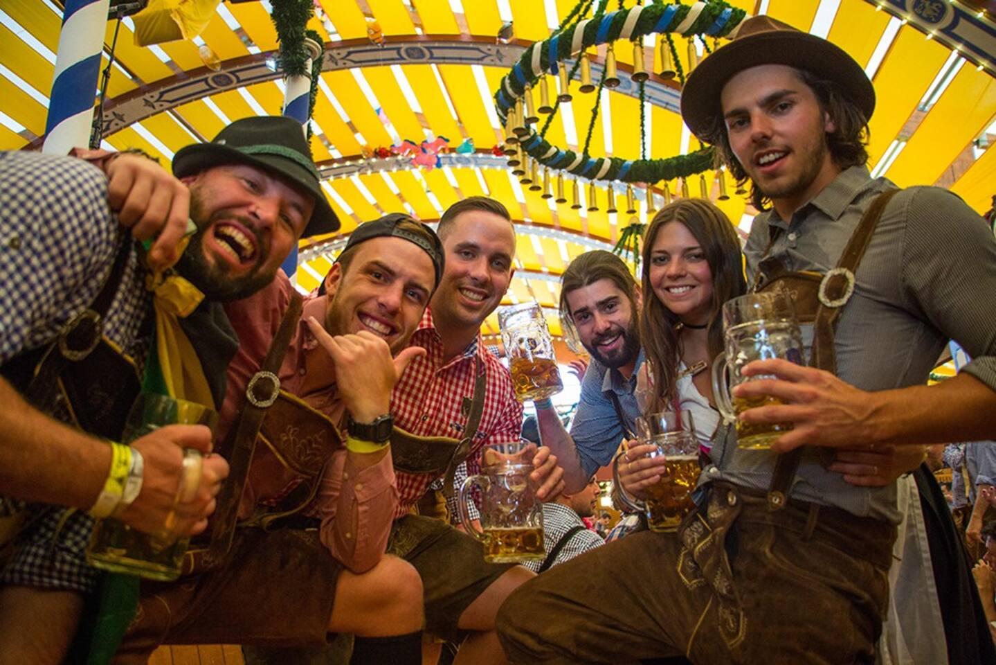 Springfest Beer Halls