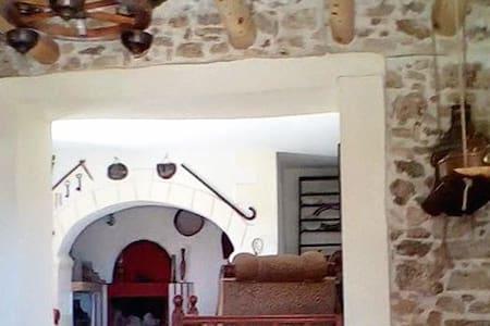 120YRS Stone Traditional Cretan Luxury Mansion! - Kournas - 连栋住宅