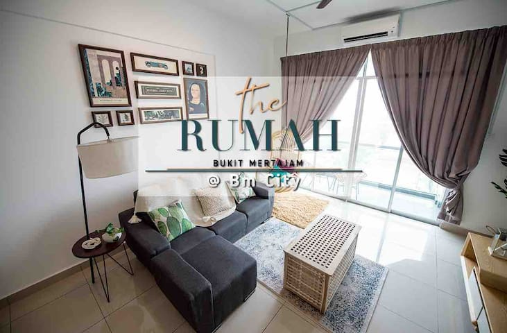 The Rumah @BM City 3 Bedroom(Urban jungle)