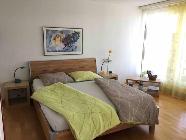 Schlafzimmer für ein bis zwei Personen