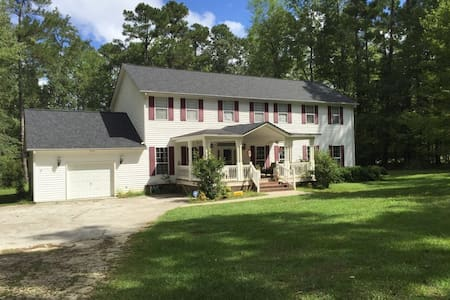 Summerville SC: Large Home on 3 acres and lakeside - Summerville - Hus