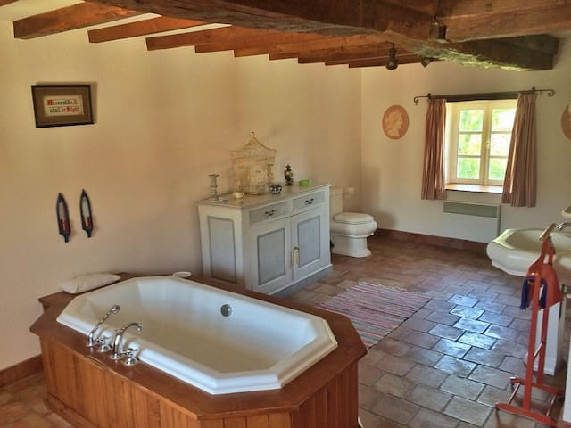 Twin room in rustic French escape with pool - Montredon-Labessonnié - Talo