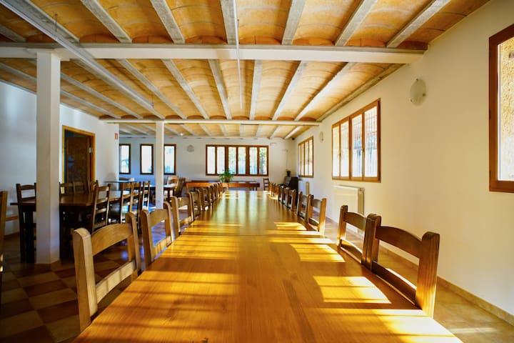 El SALT casa rural i de colònies per grups - Mura - Appartement