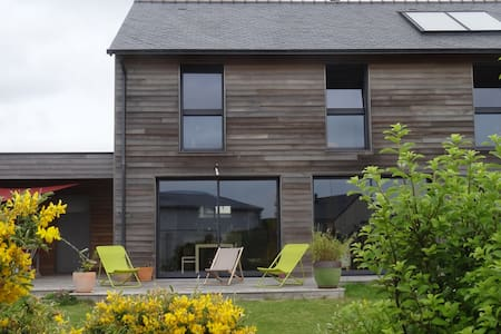 Maison ecologique en bois Golfe du Morbihan - Ploeren