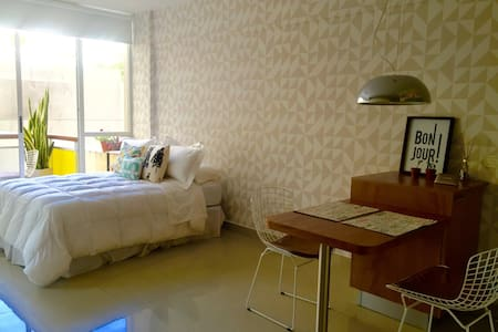 NEW LUXURY APT IN PALERMO HOLLYWOOD WITH POOL!!! - Buenos Aires - Leilighet