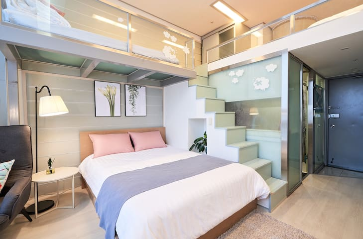[Free Egg]Cozy loft near to Myeongdong