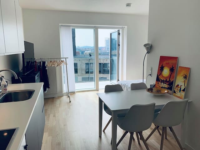 New and modern top floor apartment at Ceres Plaza