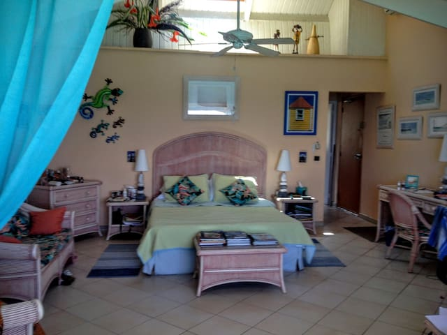 Private waterfront apartment with huge views - Grand Case - Wohnung