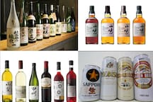 There are a lot of good drinks in Japan. The first place was 26% for beer, the second place 15% for sake, and the third place 12% for shochu (including rock, water and hot water).