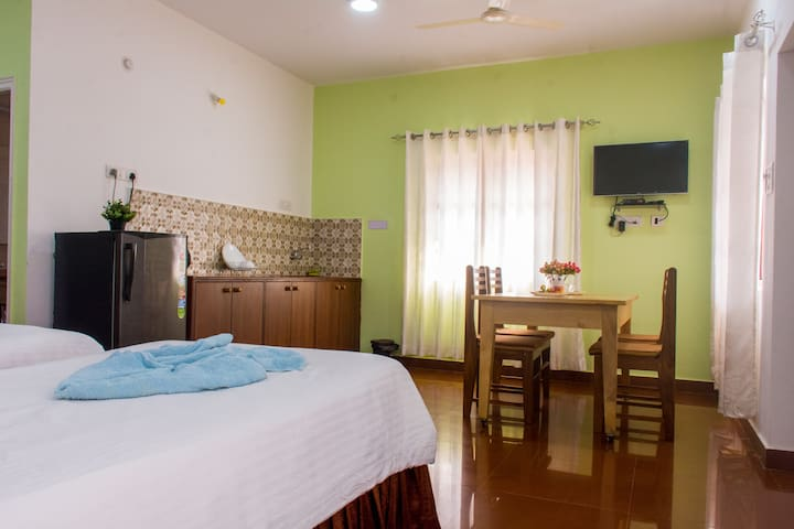 1-Holy Cross Home-Stays -Big serviced Studio Goa
