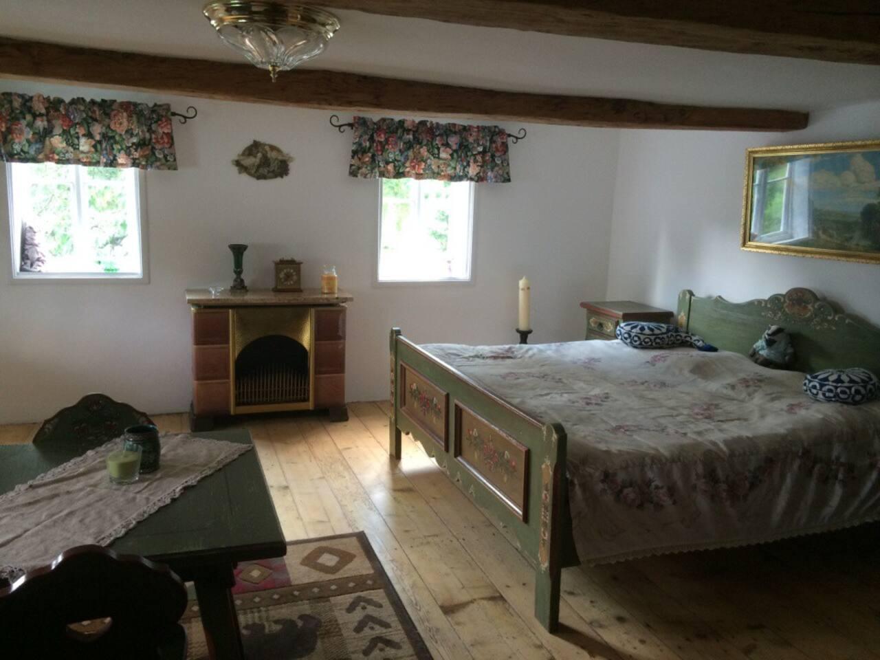 Hauptbett im Zimmer 1