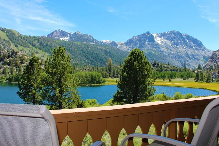 Overlooking Gull Lake and Surrounding Sierra Mountains (Interlaken #34)