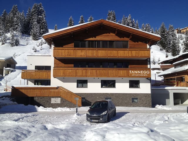 New apartment for 2 in Tannegg in Lech