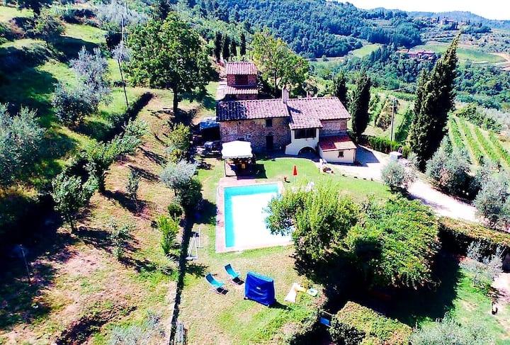 Villa La Doccia, Greve in Chianti.