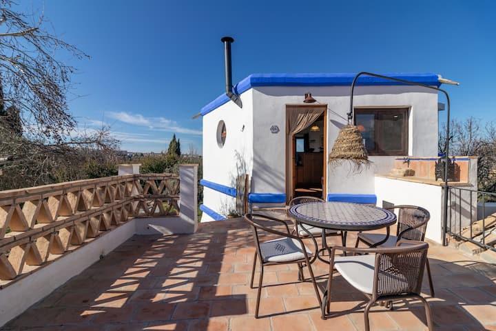 Loft rústico con piscina y campo cerca de Granada