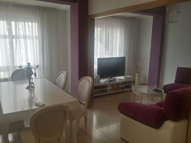Piso céntrico en Castellón de la Plana. - Castelló de la Plana - Apartamento